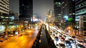Ruchliwie ruch drogowy w mieście - czasu upływ zbiory wideo