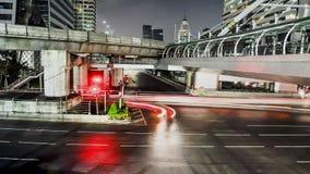 Ruchliwie ruch drogowy w mieście - czasu upływ zbiory