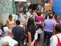 Ruchliwie rynek w Guerrero Meksyk Zdjęcia Royalty Free