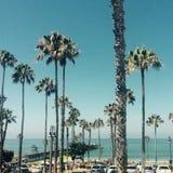 Ruchliwie San Clemente molo Zdjęcie Stock
