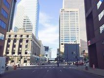 Ruchliwie W centrum miasto zdjęcia stock