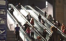 ruchome schody do Fotografia Stock