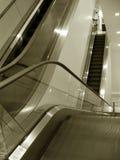 ruchome schody do Zdjęcie Royalty Free