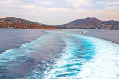 ruchu abstrakt śródziemnomorski Greece Obraz Stock