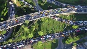 Ruchu drogowego dżem i godzina szczytu czas