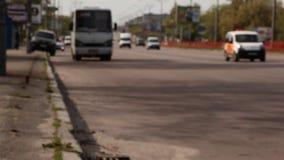 Ruchu drogowego dżem w mieście zbiory