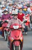 Ruchu drogowego dżem w Saigon, Wietnam Zdjęcie Stock