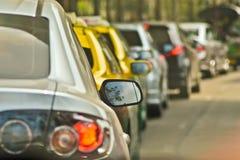 Ruchu drogowego dżem Obraz Stock