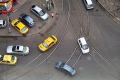 Ruchu drogowego dżem Zdjęcie Stock