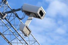 Ruchu drogowego egzekwowania kamery zbliżenia fotografia obraz stock