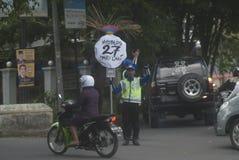 RUCHU DROGOWEGO OCHOTNICZY transport Fotografia Stock