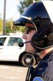 Ruchu drogowego policjant Obrazy Royalty Free