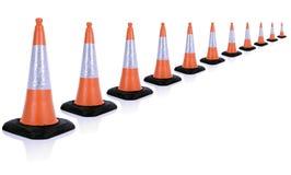 Ruchu drogowego rożek Zdjęcie Stock