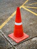 Ruchu drogowego rożek na asfaltowej drodze Obraz Stock