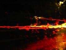 Ruchu drogowego ruchu plama Fotografia Royalty Free