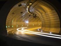 Ruchu drogowego tunel od inside Obrazy Stock