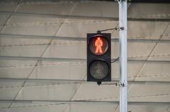 Ruchu drogowego zielonego światła tło fotografia stock