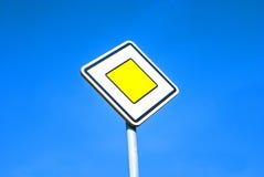 Ruchu drogowego znak Obrazy Royalty Free