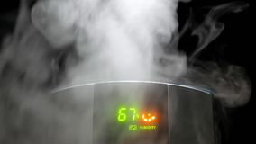 Ruchu dym zdjęcie wideo