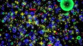 Ruchu kolorowy round zbiory wideo