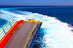 ruchu morze śródziemnomorski Obrazy Stock