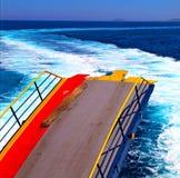 ruchu przypływu abstrakcjonistyczna piana i spienia w morzu mediterrane Zdjęcia Stock