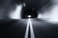 Ruchu zamazany stary tunel Zdjęcia Royalty Free