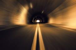 Ruchu zamazany stary tunel Fotografia Royalty Free