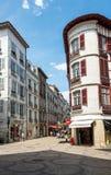 Ruciana Victor Hugo ulica Bayonne Aquitaine, Francja Obrazy Royalty Free