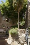 Ruciany Du château w Èze wiosce, Francja Fotografia Stock