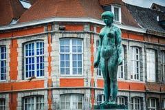Ruciany Du Pont w Tournai, Belgia Zdjęcia Royalty Free