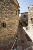 Ruciany Principale w Èze wiosce, Francja Obrazy Royalty Free