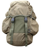Rucksack. A rucksack with photoshop paths Royalty Free Stock Image
