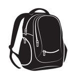 rucksack stock abbildung