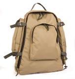 Rucksack. Military style rucksack isolated on white Stock Photo