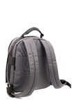 Rucksack grey Stock Photo