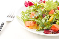 Rucola salad Royalty Free Stock Image