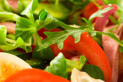 Rucola Salad Stock Photo