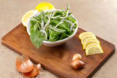 Rucola salad leaves Royalty Free Stock Photography