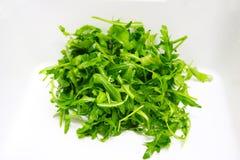 rucola salat背景gren食物 库存照片