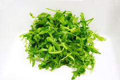 Rucola salat  background gren food. 2017 restaurant Stock Photos