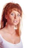 ruda seksowna kobieta Zdjęcie Royalty Free