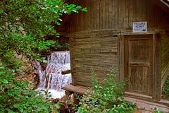 从Rudaria, Caras-Severin,罗马尼亚的Watermill 库存照片
