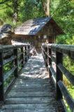 Rudariaen Watermills Arkivbilder