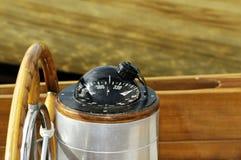 rudder компаса Стоковое Изображение RF