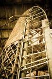Rudder. Vintage aircraft rudder and airframe abstract Royalty Free Stock Photo