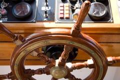 rudder drewniany Fotografia Royalty Free