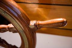 rudder drewniany Zdjęcia Stock