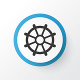 Rudder Icon Symbol. Premium Quality  Boat Helm Element In Trendy Style. Royalty Free Stock Photos