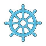 Rudder ikona Zdjęcie Stock